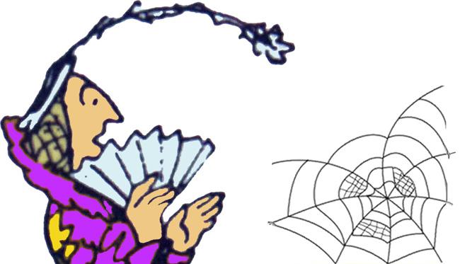ZZ. Madame Ach mit Spinnennetz